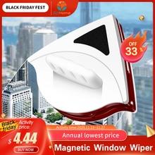 Manyetik pencere sileceği cam temizleyici fırça aracı çift taraflı manyetik fırça pencere camı fırça yıkama ev temizlik aracı