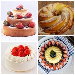 Image 4 - Random Color Silicone Cake Round Shape Mold Kitchen Bakeware DIY Desserts Baking Mold Mousse Cake Moulds Baking Pan Tools