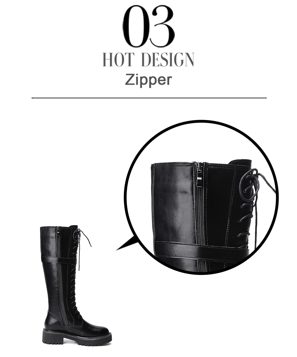 winter female knee-high boots