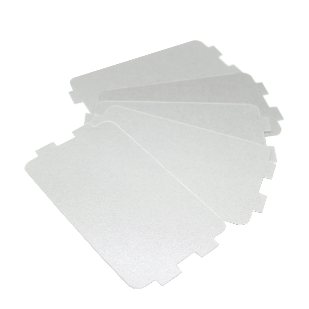 7pcs Thicker Spare Parts For Microwave Ovens Mica Microwave 10.7*6.4cm Mica Sheets For Midea Magnetron Cap Microwave Oven Plates