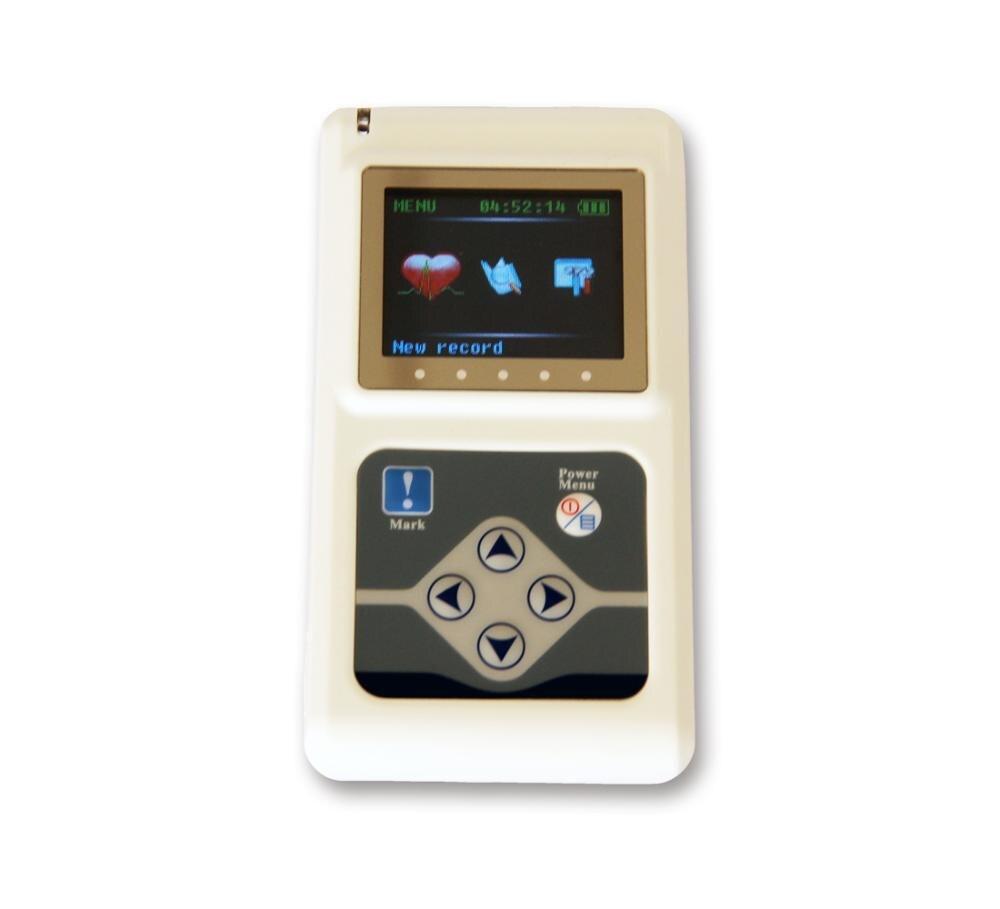 CONTEC TLC9803 3 kanały nagrywania maszyna do holterowskie ekg System przyrząd pomiarowy do obserwacji Monitor opieki zdrowotnej