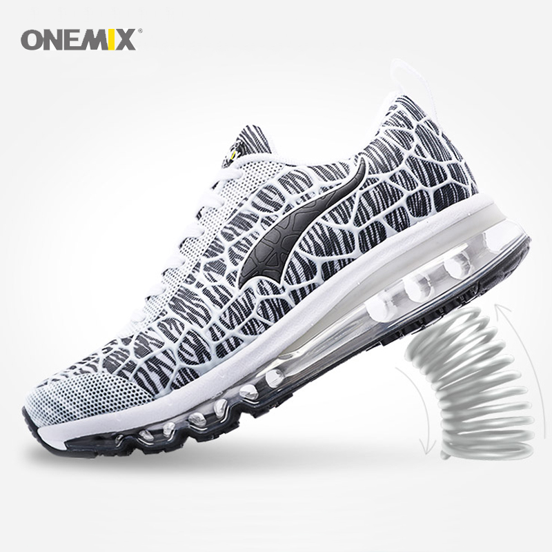 onemix Brand air cushion running <font><b>shoes</b></font> for Men <font><b>360</b></font> train walking outdoor Sneaker Breathable Mesh Athletic Outdoor Cushion <font><b>Shoes</b></font> image