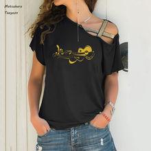 Модная футболка для музыкантов гитары скрипки музыки забавная