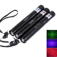 2 em 1 de alta potência ponteiro laser verde caça vermelho roxo laser boné laser 303 dispositivo visão ajustável foco caneta lazer|Lasers|Esporte e Lazer -