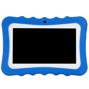 Планшет для детей «Человек-паук», 7 дюймов HD Дисплей с ребенком-устойчивый силиконовый чехол (4 ядра 8 Гб Wi-Fi, Bluetooth, передние и задние камеры) ш...