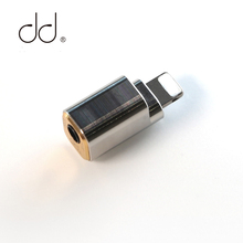 цена на DD ddHiFi TC35i Apple lightning to Jack 3.5 Cable Adapter For iOS iPhone iPad iPod touch