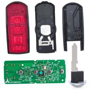 Image 3 - KEYECU الذكية مفتاح بعيد 4 زر فوب FSK 315Mhz PCF7953P 49 رقاقة لمازدا CX 9 CX9 SUV 2016 2017 2018 WAZSKE13D02 / SKE13D01