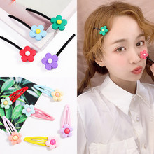 Summer Wholesale Mix Color Styles Flower Cartoon Assorted Lovely Kids Girls Woman HairPin Clips Hair Accessories Jewelry(China)