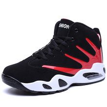 Basketball-Shoes For Men High-Top Outdoor Sneakers Basketball Sport Shoes Sneakers Sport Comfortable Breathable Quality New hot original nike new arrival men s basketball low top breathable sport shoes sneakers outdoor sneakers comfortable
