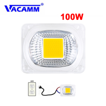 SMD COB Светодиодная лампа Epistar чип бобы лампа переменного тока 220 в 110 В прожектор белый/теплый свет с интеллектуальным IC драйвером для прожектора освещения