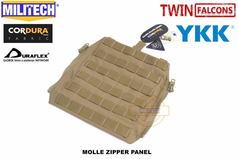 MILITECH Zip-On Molle Panel for JPC CPC AVS Military 500D Cordura Zipper Pack