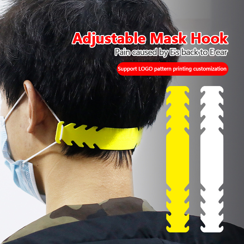 10/30pcs Face Mask Ear Hooks Extension Buckle Adjustable Earache Fixer Anti-Slip Mask Masks Buckle Holder Sujeta Mascarillas