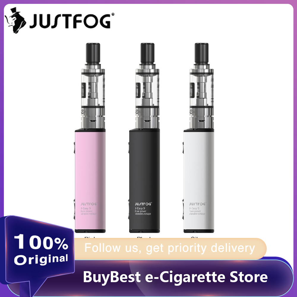 New Year Sale Original JUSTFOG Q16C Starter Kit With J-Easy 9 Battery 900mAh & 1.9ml Atomizer Vape Kit  VS MINIFIT/ Justfog Q16