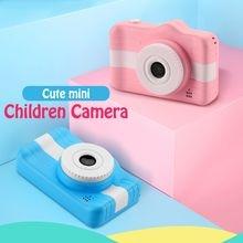 Детская камера цифровая 12 МП 1080p фото видеокамера Милая мультяшная