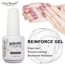 Clou beauté – vernis à ongles Gel UV, 15ml, couche de Base, sans essuyage, Semi-Permanent, laque, longue durée