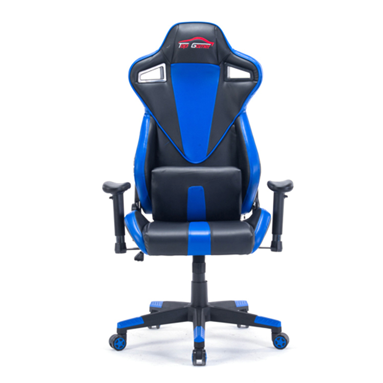Computer Massage EU Racing Chair Comfortable Reclining Office Chair 360 Degree Revolving Gaming Recliner Armchair With Footrest