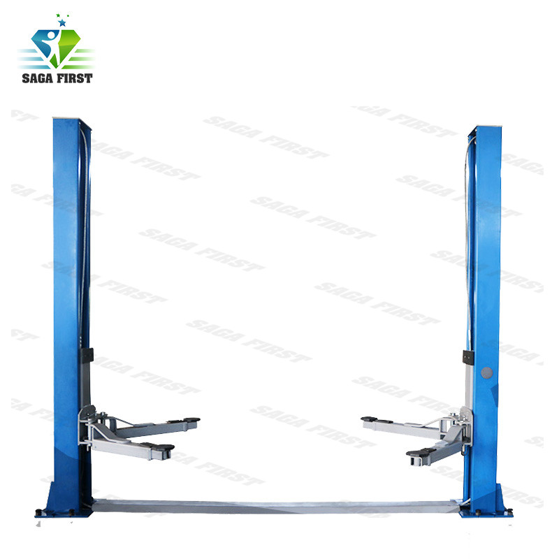 Super Symmetric Arms Two Post Electrical Vehicle Lift