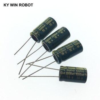 2-50pcs 10V 16V 25V 35V 50V High Frequency Low ESR Aluminum Capacitor 100UF 220UF 330UF 470UF 680UF 1000UF 1500UF 2200UF 3300UF 2