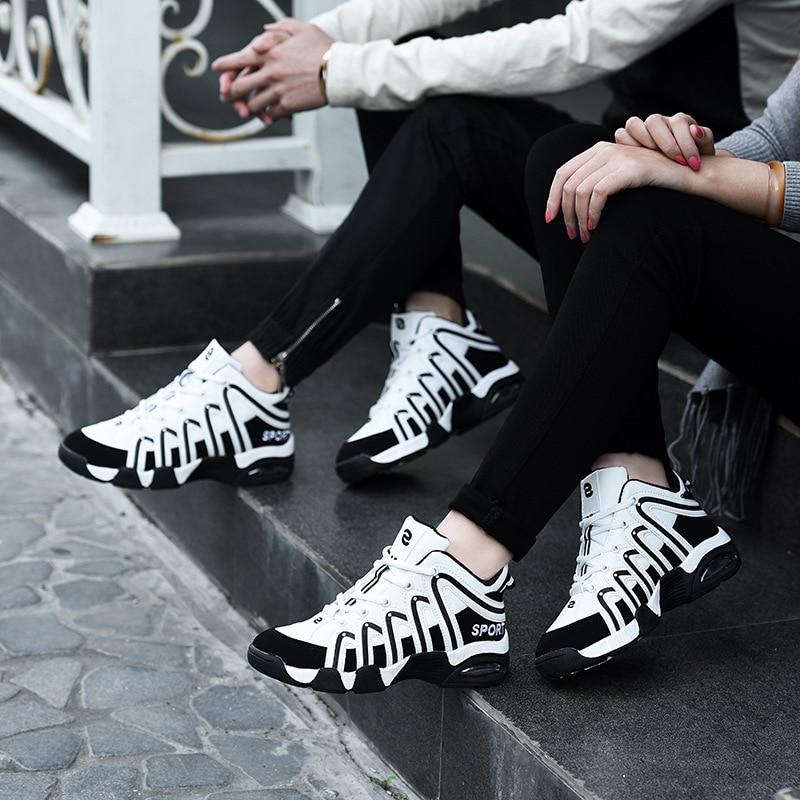 Tênis unissex tênis chunky homens sapatos vulcanizados sapatos casal formadores tênis sepatu pria trampki meskie tenis masculino