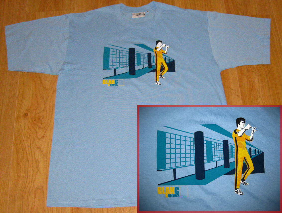 Bruce Lee T Shirt Game Of Death Dragon Boxing Karate Movie inde tshirt Various image