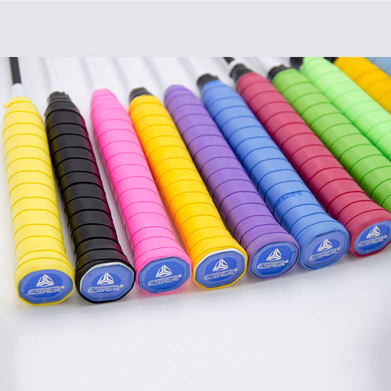 Hohe Qualität Badminton Grip Schläger Over doppelseitiges Saugfähigen nicht-slip Outdoor Sport Zubehör Tennis Hand Band