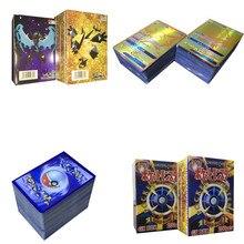 100 قطعة ألعاب البوكيمون GX EX ميجا مشرقة أوراق للعب معركة كارت لا تكرار بيكاتشو لعبة ببطاقات ورقية للأطفال عيد الميلاد هدية عيد ميلاد