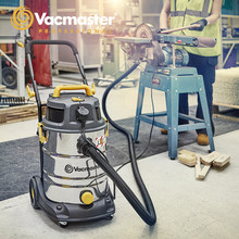 Vacmaster-aspirateur 2 en 1 pour maison, nettoyeur industriel avec filtre HEPA, réservoir en acier inoxydable, collecteur de poussière de Garage