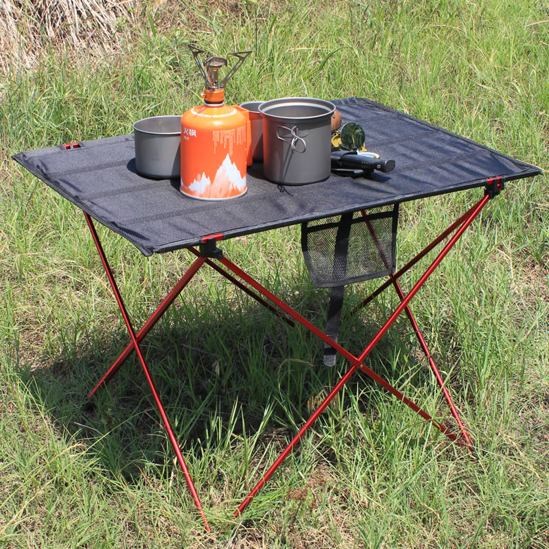 Hot Sale Portable Foldable Folding Table Desk Campinng Outdoor Pinic 6061 Aluminium Alloy Ultra-light Folding Desk