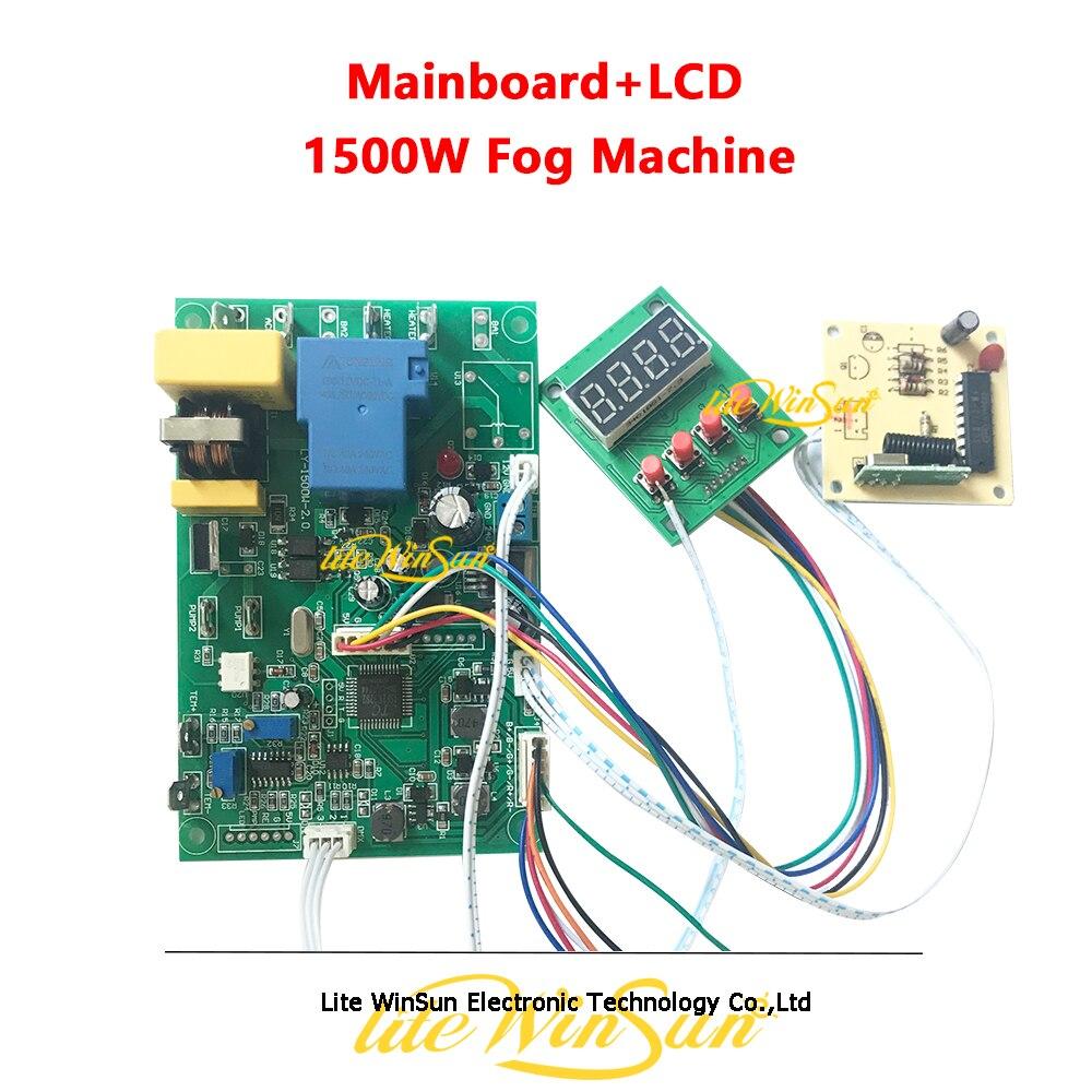 1pc 1500W Fog Machine Mainboard Motherboard with LED Display for Stage Machine 1500W Fogger Hazer Smoke Machine|Stage Lighting Effect|Lights & Lighting - title=