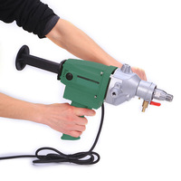 Diamond Rhinestone Hole Punching Machine Handheld Air Conditioner Hole Punching Machine 110 Drilling Machine 220V JLS 110