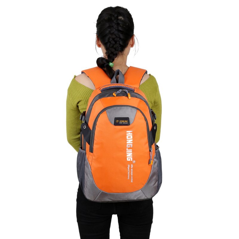 Fen Chi Outdoor Mountaineering Bag Portable Large Capacity Riding Hiking Travel Bag Casual Sports Backpack Men Women's
