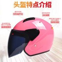 Capacete da motocicleta feminina bateria masculina elétrica sem universal portátil inverno quente bonito um tamanho|Capacete da bicicleta| |  -