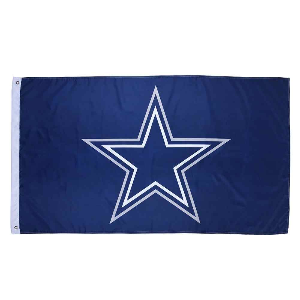 Amerikanischen Dallas Cowboys Flagge USA Team Blue Star Flag Home Decor Drop Shipping