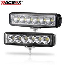 6 인치 18W Offroad DRL LED 작업 빛 홍수 빔 스포트 라이트 12V 24V 주간 러닝 라이트 지프 4x4 ATV 4WD SUV 자동차 스타일링