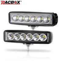 6 zoll 18W Offroad DRL LED Arbeits-licht-flut-lichtstrahl Scheinwerfer 12V 24V Tagfahrlicht Für jeep 4x4 ATV 4WD SUV Auto Styling