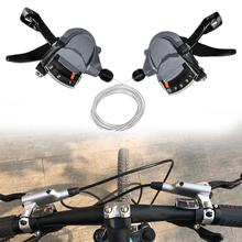Bicycle Derailleur Lever Bike M4000 Speed Shifter 9/27 S Shifting Accessories Practical Upgrade Shifters Parts Road Bike MTB цена 2017