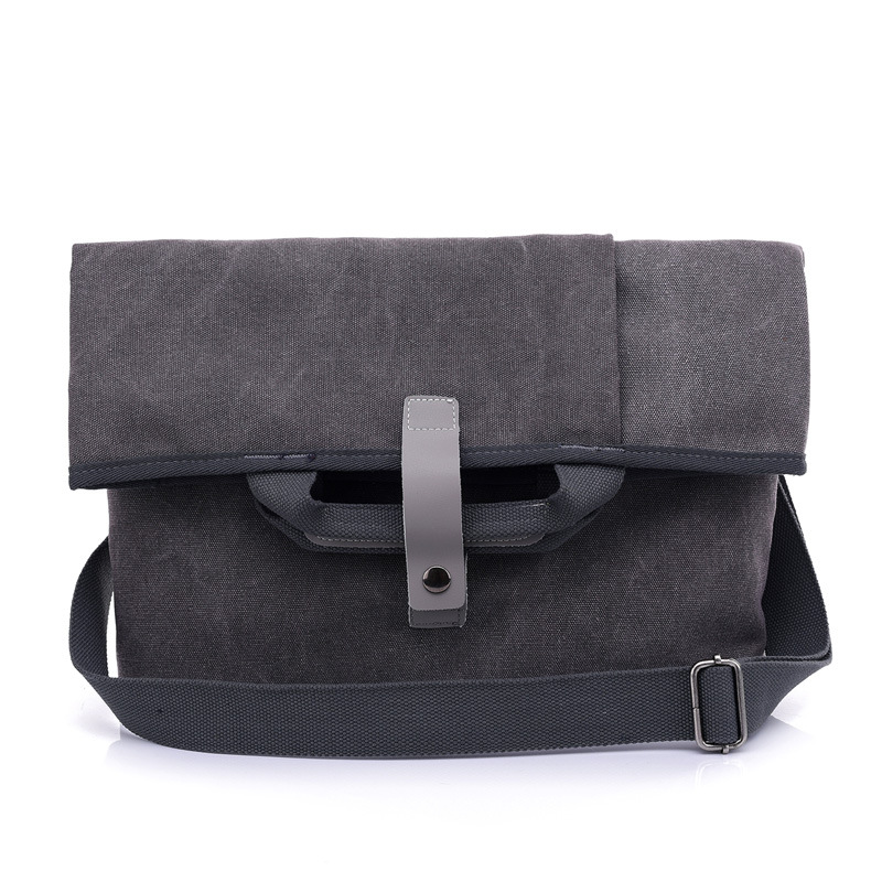 2019 New Men's Shoulder Bag Outdoor Canvas  Men's Business Leisure Briefcase Laptop  Men's Bag