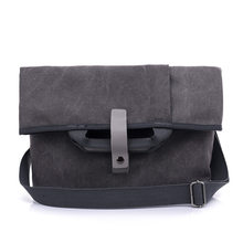 2019 new men's shoulder bag outdoor canvas men's business leisure briefcase laptop men's bag(China)