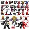 Kids Toys Marvel Spider Man Figures Building Blocks Deadpool Thanos Iron Man Bricks Mini Dolls Toys For Children Birthday Gifts