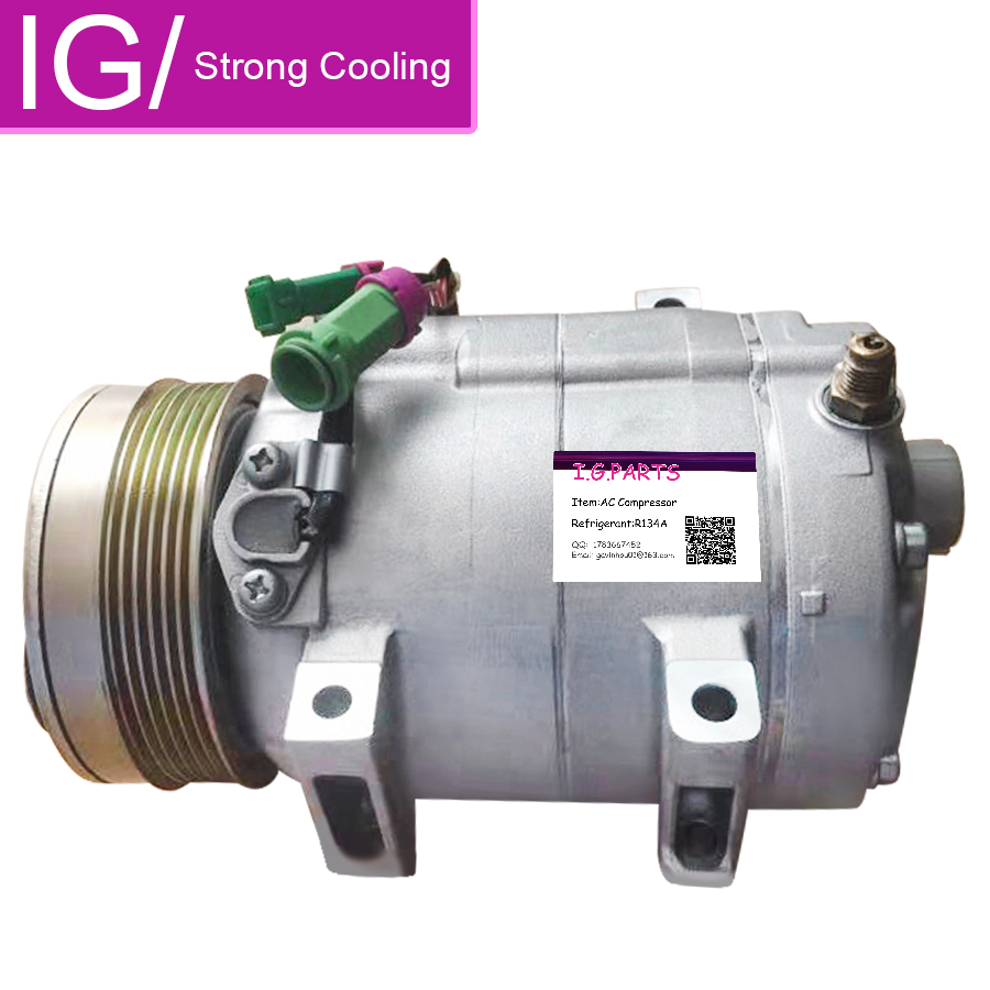 FOR CAR AUTO A C COMPRESSOR AUDI V8 A6 A8 1994 2002 077260803AA 077260803AB 077260803AD CO 11009JC 8600084 8618562 in Air conditioning Installation from Automobiles Motorcycles