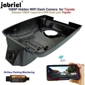 Jabriel 1080P Hidden Wifi Dash Cam Car Dvr for Toyota Highlander KLUGER LAND CRUISER 200 100 80 70 Prado 150 120 90 2001 2020