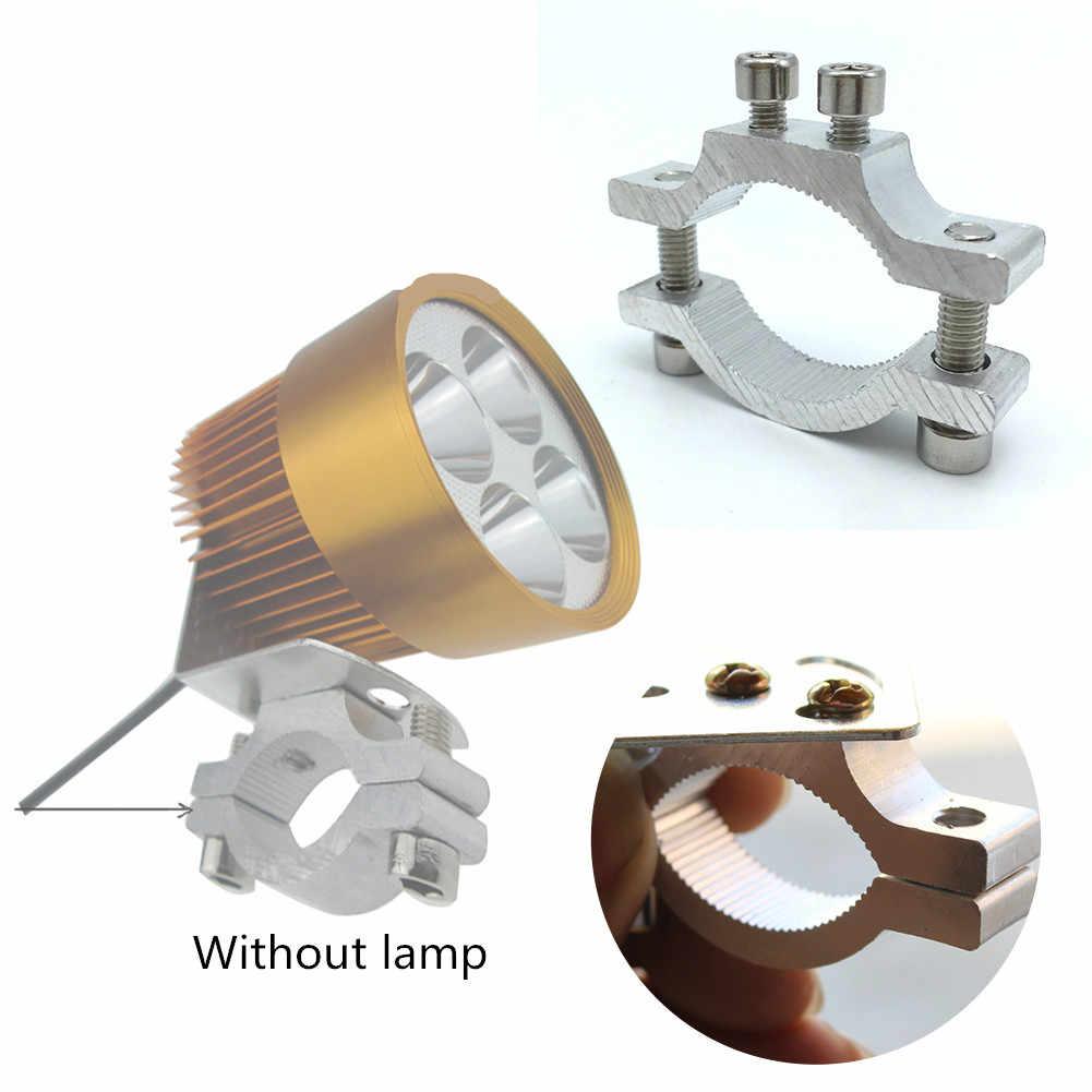 Motorcycle Mount Spot Light Bracket Fixed Headlight Turn Signal Lamp Stand Clamp