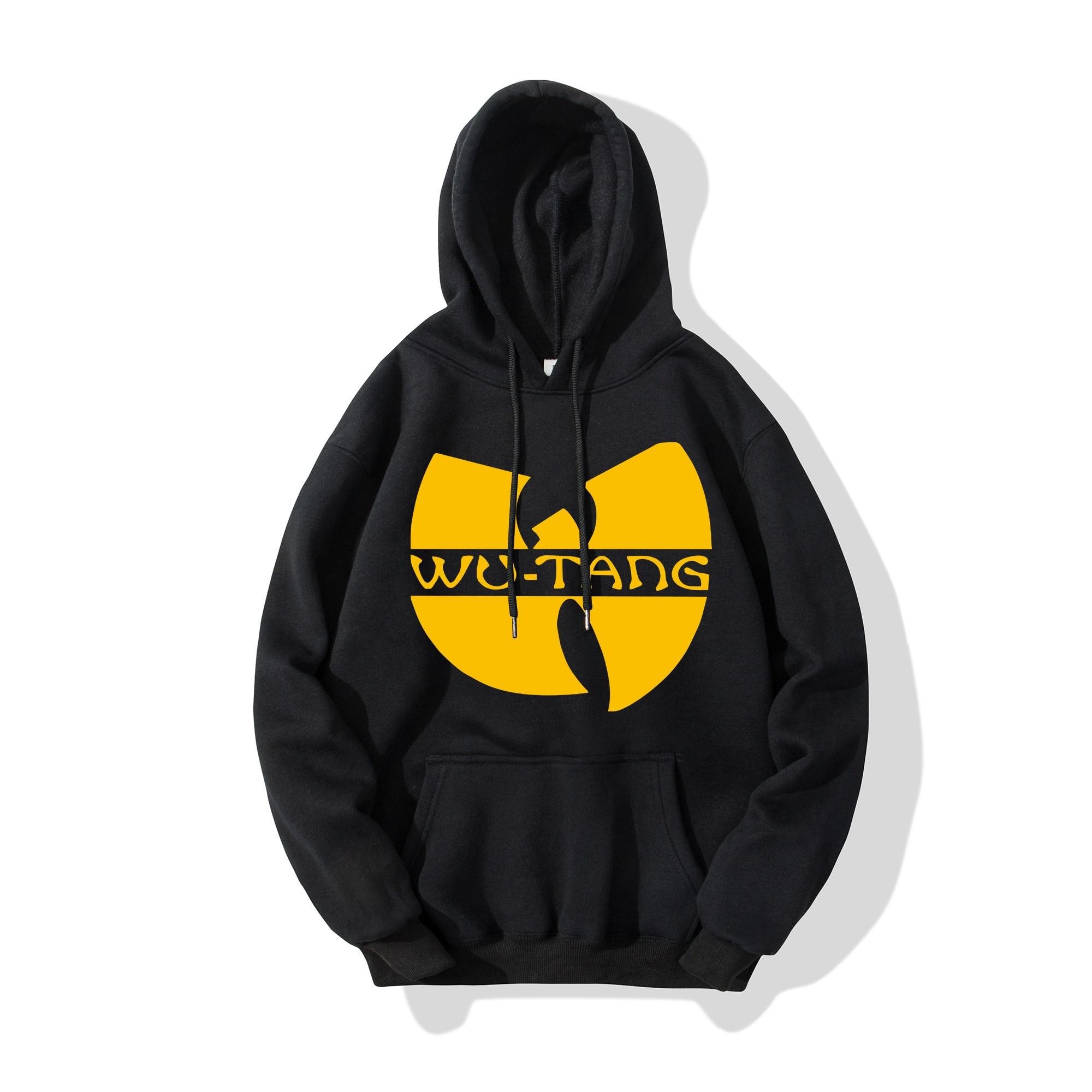 Wu Tang Clan Men Women Hoodie Fashion Hip Hop Band Logo Design Hoodies Fans Fashion Hooded Long Sleeve Sweatshirt Rap Music Tops