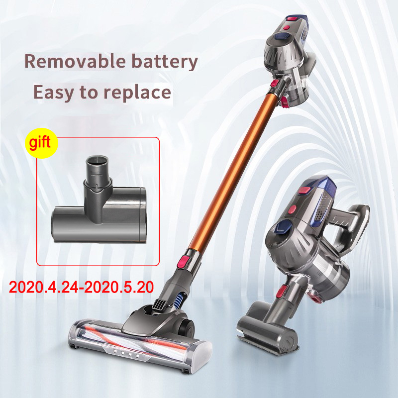 Wireless Vacuum Cleaner Home Vacuum Handheld Vacuum Cleaner Powerful High-power Cross-border Gift Distribution Wireless Vacuum