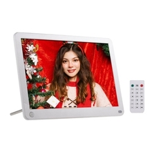 P101 10 Inch LED Digital Photo Frame IPS Desktop Electronic Album 1280×800 HD Supports Music/Video/Photo Player/Alarm Clock/Cloc