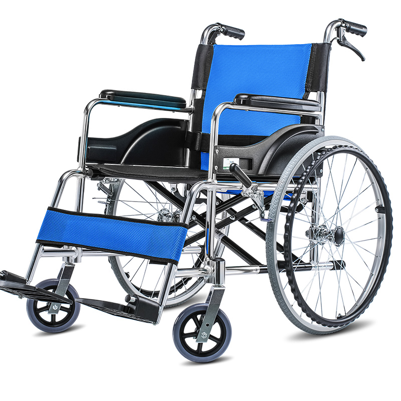 Wheelchair Folding, Portable, Handy, Portable Travel For The Elderly And The Disabled