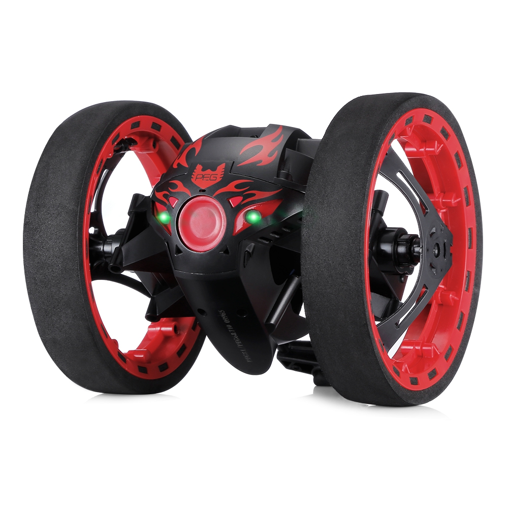 New RC Car Bounce Car Remote Control Toys RC Robot <font><b>80cm</b></font> High Jumping Car Radio Controlled Cars Machine <font><b>LED</b></font> Night Toys Kids Gifts image