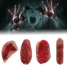 Хэллоуин смешная поддельная рана кровавая травма шрам латексная наклейка Tricky шалость самоклеящаяся 3D наклейка макияж(часы осторожно) горячая Распродажа