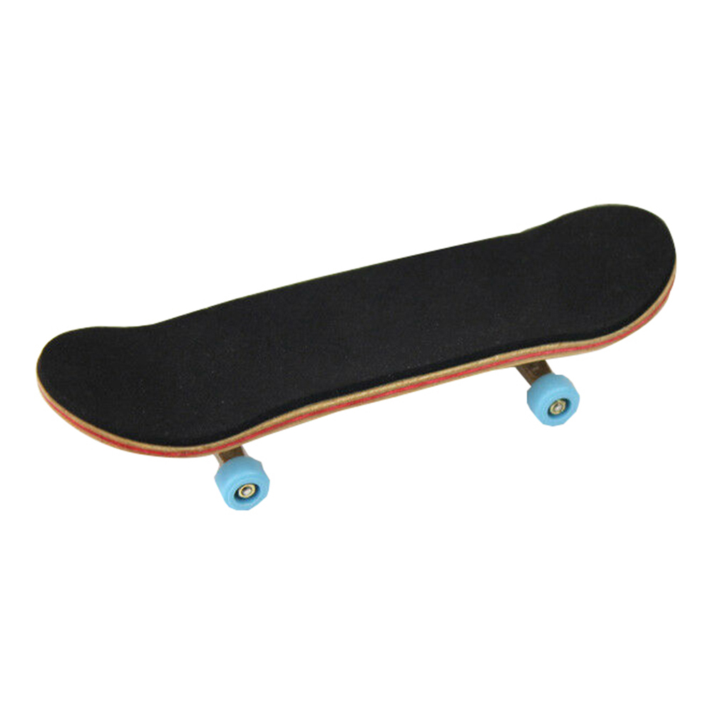 New Complete Wooden Fingerboard Finger Skate Board Gifts Foam Tape Maple Wood Mini Skateboard