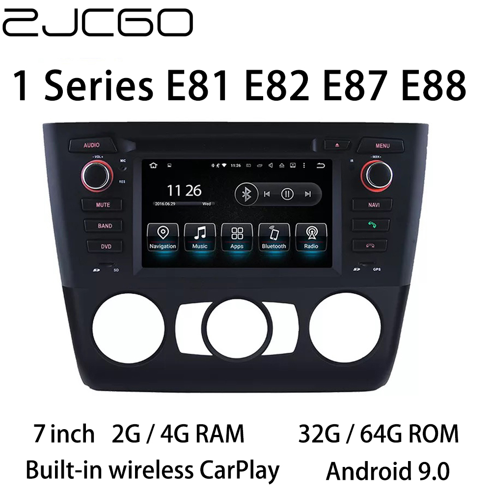 Car Multimedia Player Stereo GPS DVD Radio Navigation <font><b>Android</b></font> Screen for <font><b>BMW</b></font> 1 Series E81 E82 <font><b>E87</b></font> E88 2004~2011 image